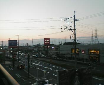 ユニクロ渋滞(11/21<br />  )