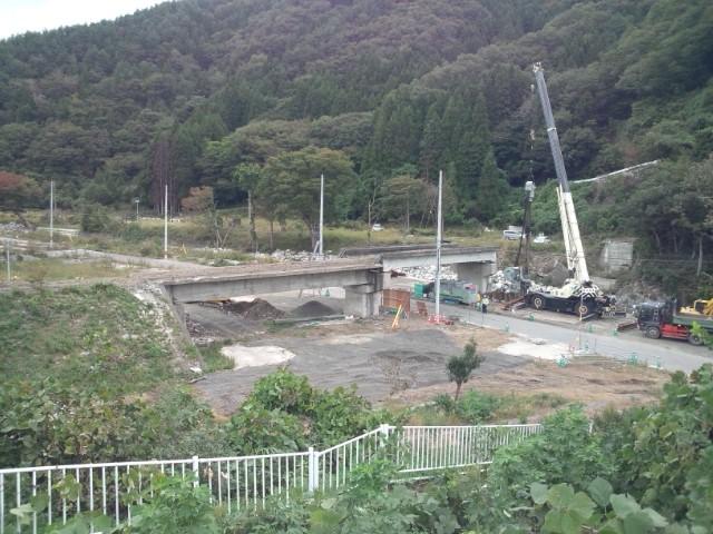 震災復旧事業の視察